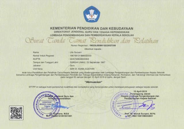 Contoh Halaman depan STTPP, http://www.librarypendidikan.com/