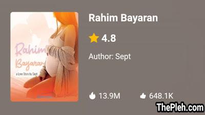 Novel Rahim Bayaran