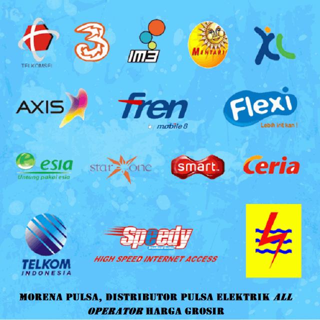 Morena Pulsa, Distributor Pulsa Elektrik All Operator Harga Grosir