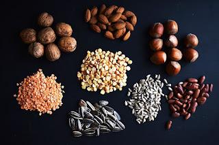 Moczenie nasion, strąków i orzechów