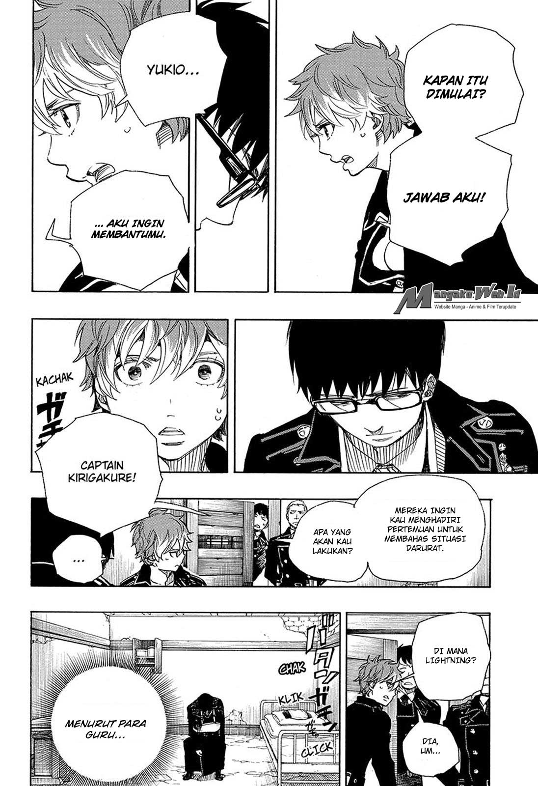 Ao no Exorcist Chapter 95-29