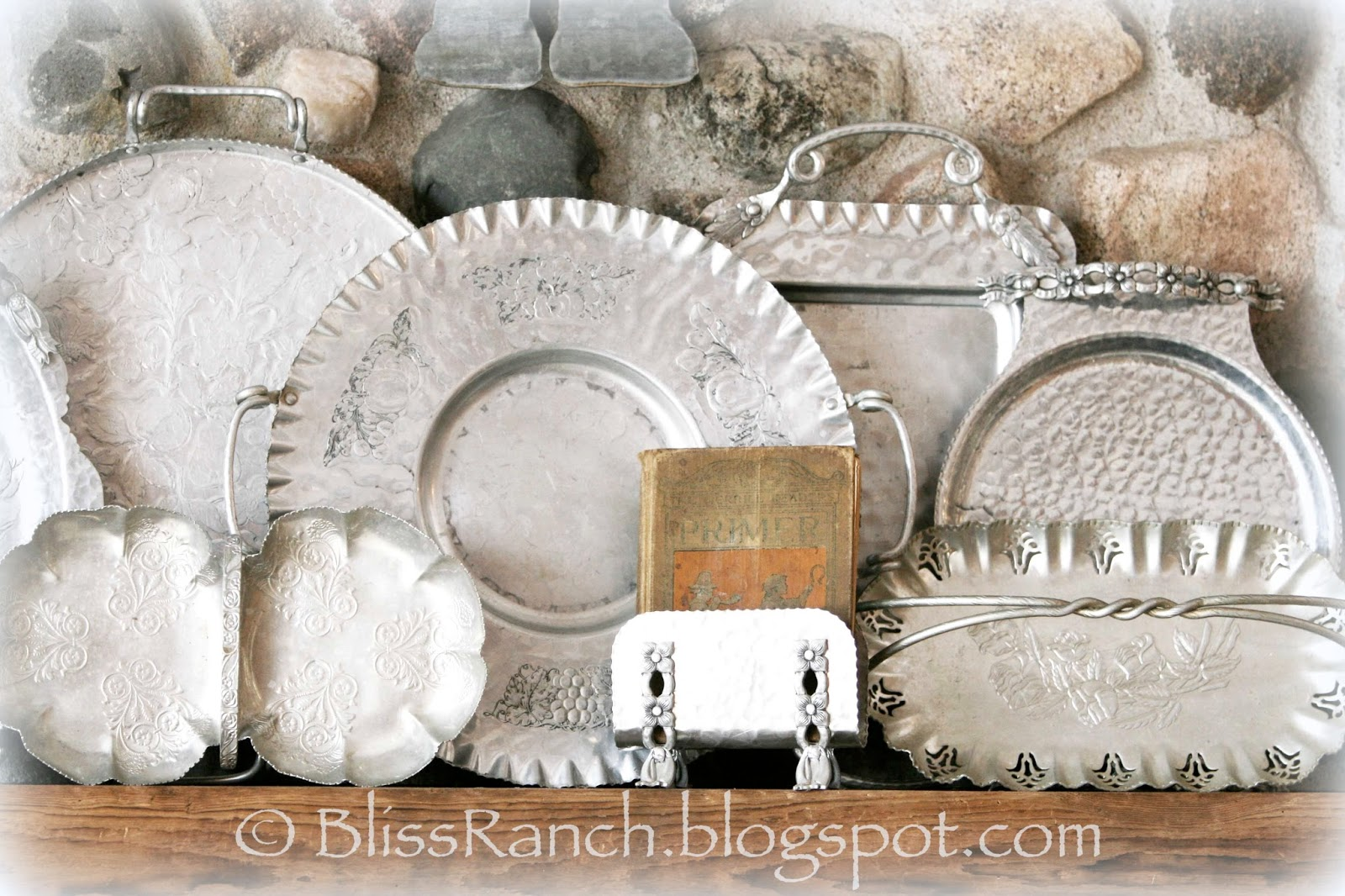 From My Front Porch To Yours- How I Found my Style Sundays-Hammered Aluminum Collection Bliss-Ranch.com