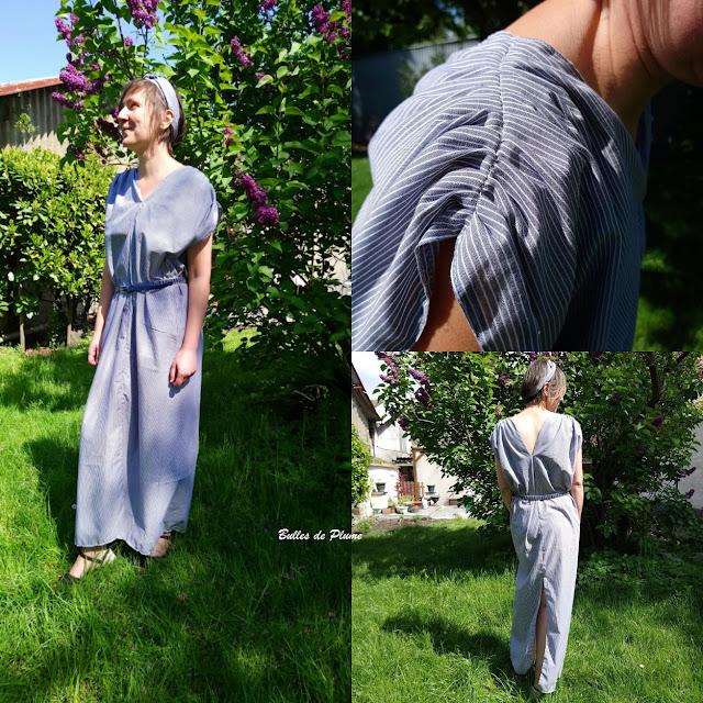 Bulles de Plume - robe femme couture facile