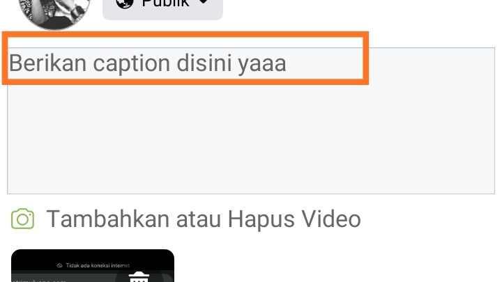 Aplikasi upload video ke Facebook Android