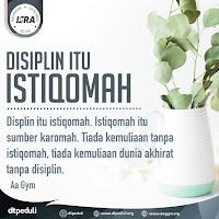Disiplin Itu Istiqomah - Kajian Aa Gym