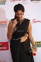 Sindhu looks fabulous in Black Saree designer choli at Mirchi Music Awards South 2017 ~  Exclusive Celebrities Galleries 010.JPG