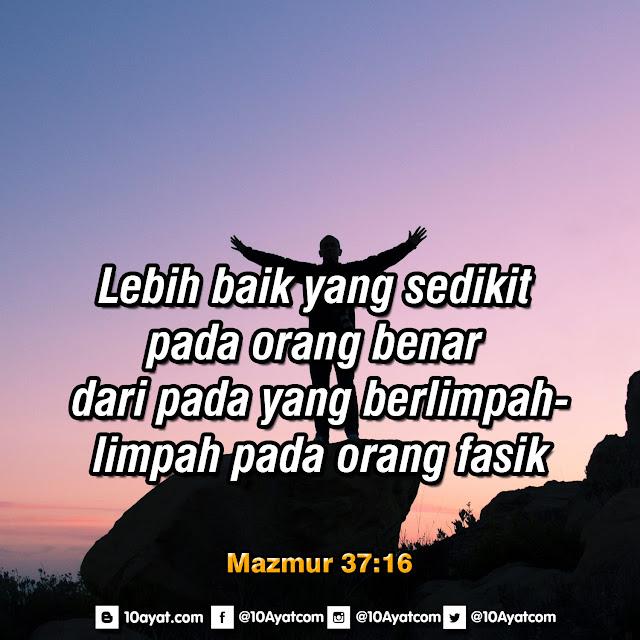 Mazmur 37:16