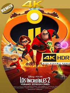 Los Increibles 2 (2018) 4K REMUX 2160p UHD [HDR] Latino [GoogleDrive]