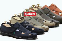 Harga Model Sepatu Sandal Santai Kickers Pria Original Terbaru