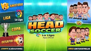 Head Soccer La Liga 2016 APK Mod - Head Soccer La Liga