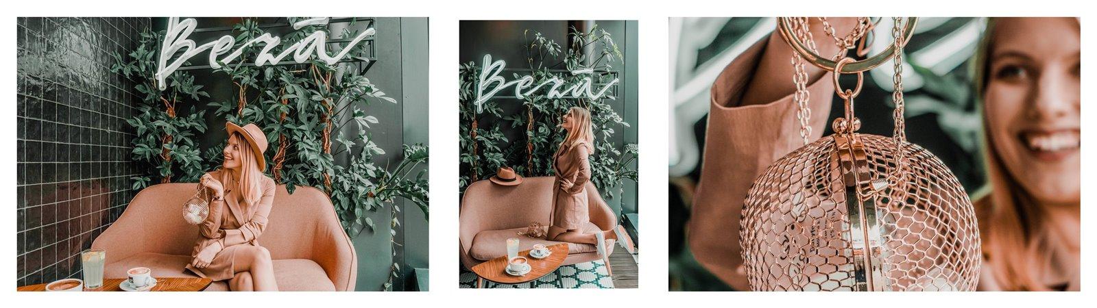 3a nakd sukienka julia wieniawa kolekcja ubrań cena gdzie kupić sukienka trendy na wiosnę 2019 sukienka o kroju płaszcza jak nosić kapelusz złota biżuteria apart torebka asos outlet satisfashion ocena jakość opinie łódź