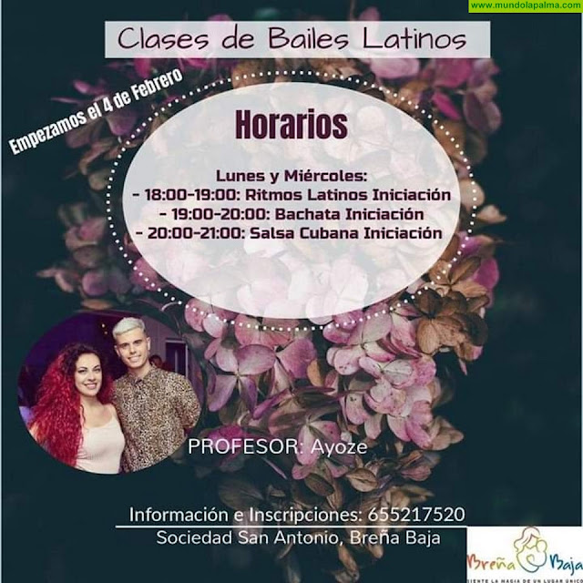 SAN ANTONIO: Bailes Latinos con Ayoze