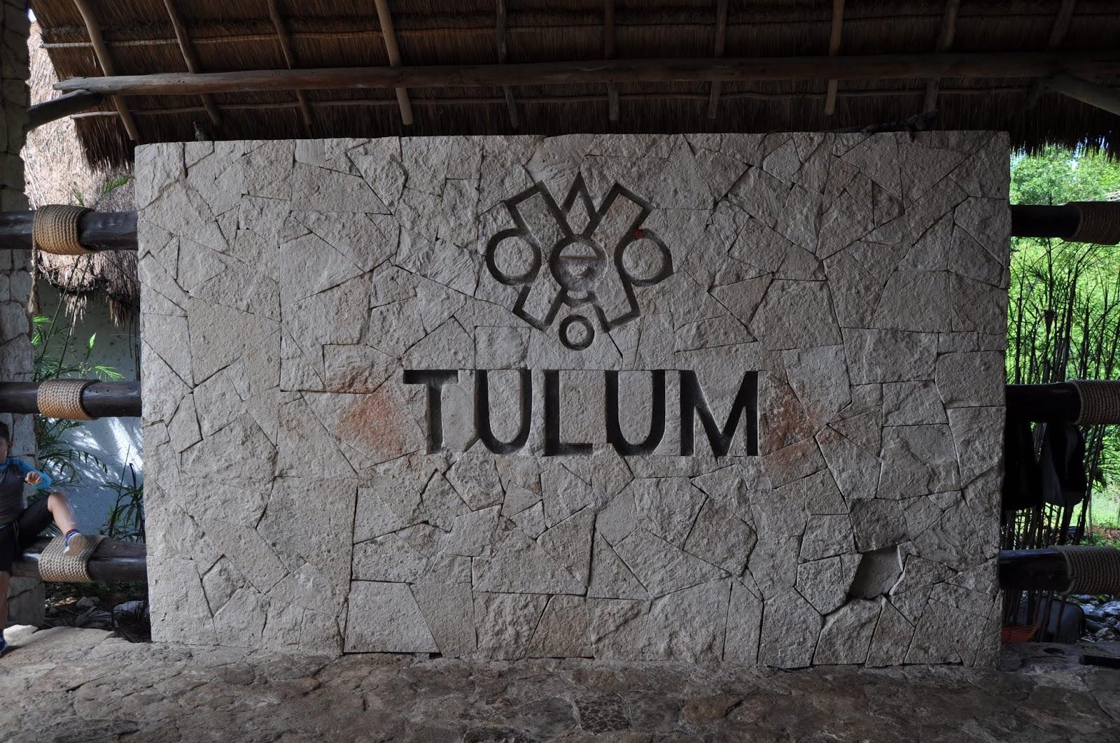 Foto entrada a las ruinas de Tulum