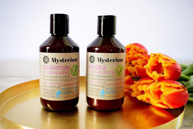 Pielęgnacja włosów z Mysterium: szampon i maska do włosów słabych, delikatnych i zniszczonych
