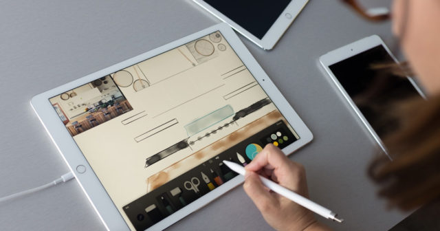 iPad-Pro-640x336 The 10.5-inch iPad Pro will be focused on education and the business market Apps