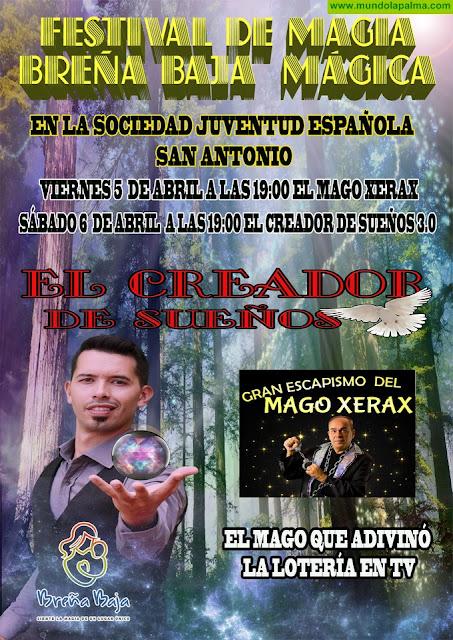 """BREÑA BAJA: III Festival de Magia """"Breña Baja Mágica"""" (entrada gratuita)"""