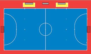 M Rosyid Ardiansyah s Blog Ukuran Lapangan Futsal Sesuai