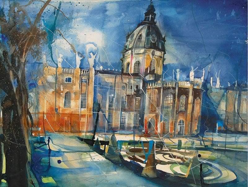22 لوحة للرسام Bernhard Vogel
