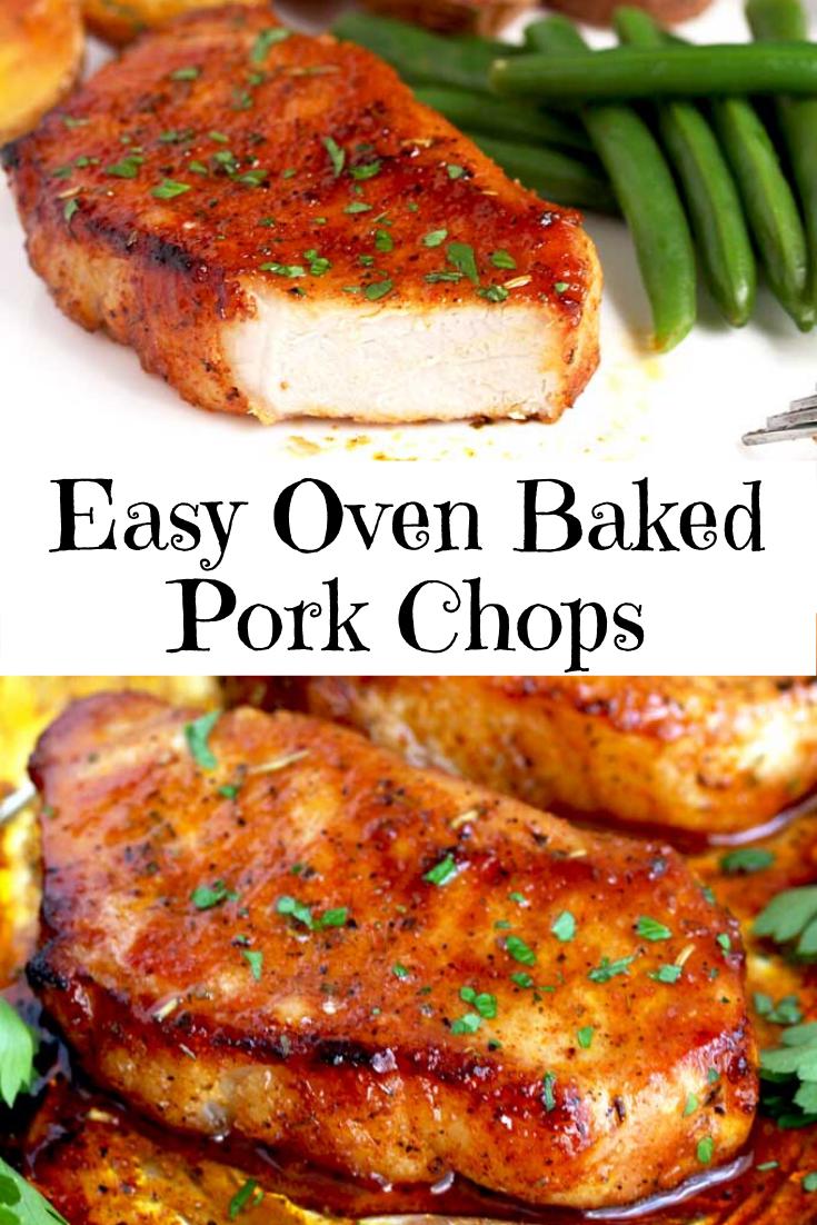 Easy Oven Baked Pork Chops