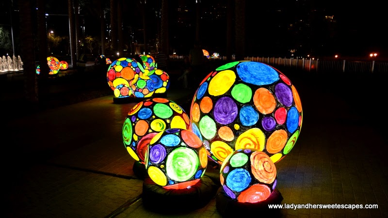 Metamorphosis at Dubai Festival of Lights