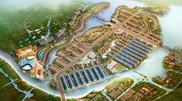 Phối cảnh khu đô thị Cao Xanh Hà Khánh