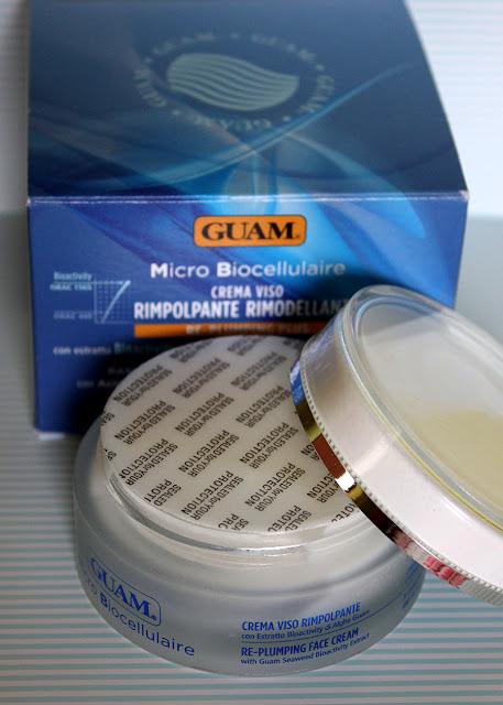 Микробиоклеточный крем для лица от морщин укрепляющий ремоделирующий от GUAM