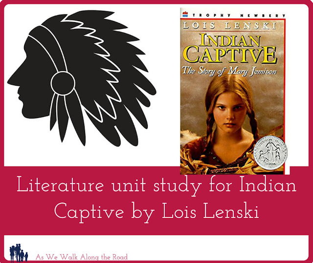 Literature unit study for Indian Captive