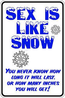 It is like snow