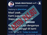 Ustadz Abdul Somad Klarifikasi Akun Palsu di Twitter