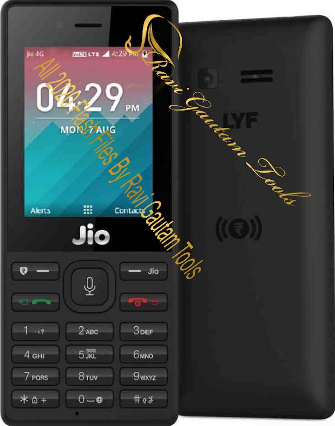All Jio 2020 Flash File By Ravi Gautam Tools Free