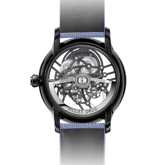 Jaquet Droz Grande Seconde Skelet-One Sky Blue (ref. J003525546)
