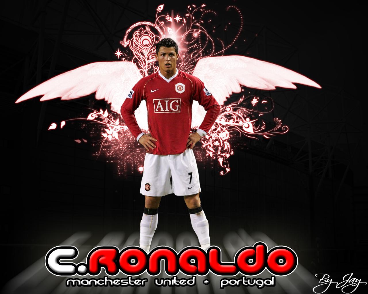 Football: Cristiano Ronaldo HD Wallpaper