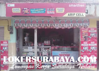 Walk In Interview di Konter Arif Cell Surabaya November 2019 Terbaru