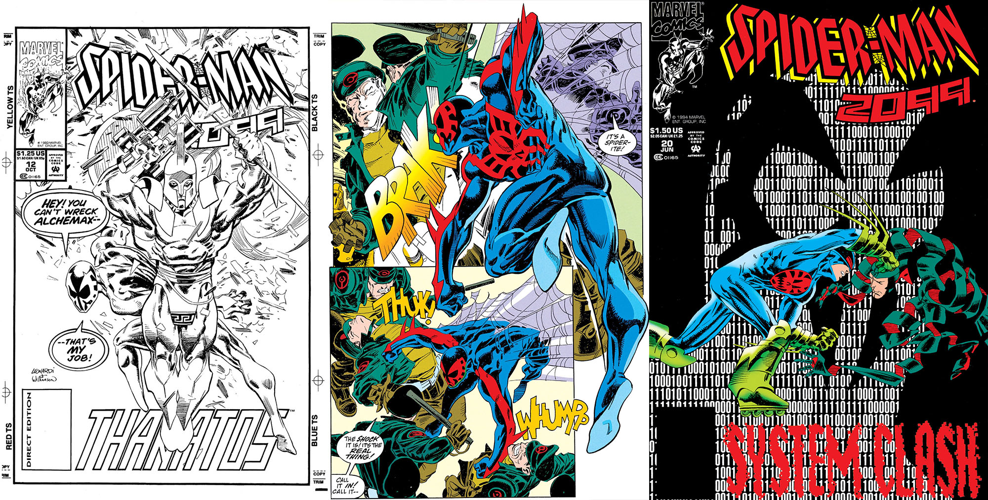 Storia Spider-Man 2099 origini costume