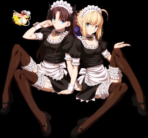 Fate/stay night - Tohsaka Rin, Saber Render 6