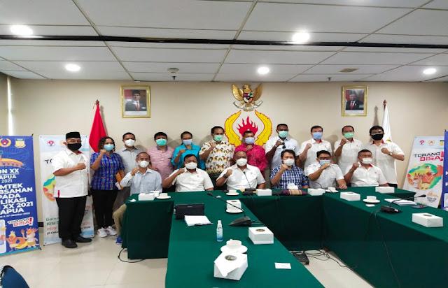 Diskominfo Papua Sosialisasi Sistem Aplikasi Keabsahan Peserta PON XX 2020