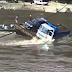 See how people all drown in a car track in front of everyone's eyes