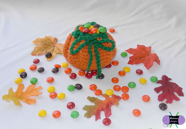 Pumpkin Treat Sack Crochet Pattern