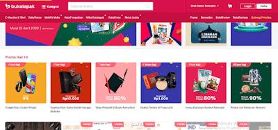 Situs Belanja Online Terpercaya bukalapak