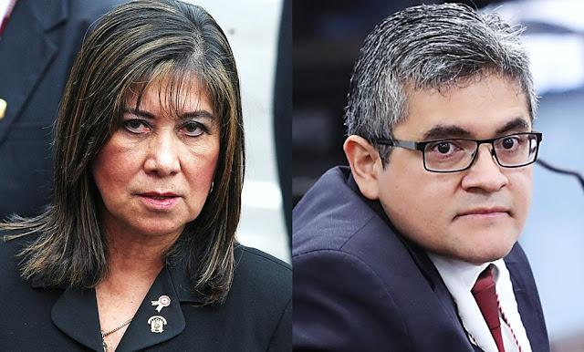 Martha Chávez cuestiona que Domingo Pérez