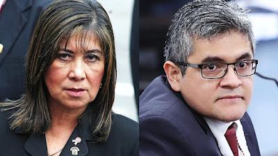 Martha Chávez a fiscal Pérez: Está desesperado por ver presa a Keiko Fujimori