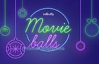 Logo Infinity Movie Balls : vinci gratis 50 cofanetti e Infinity Gift