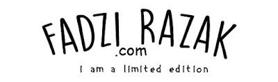 Fadzi Razak — Lifestyle, Food, Travel and Review