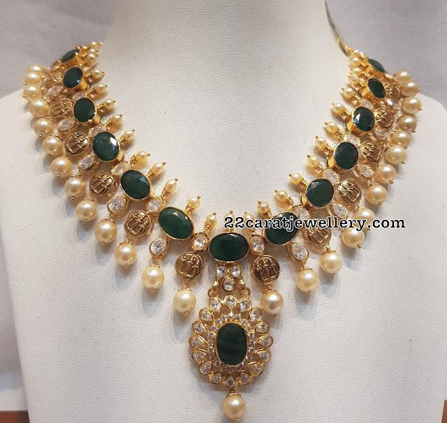 Ram Parivar Necklace only 40 Grams