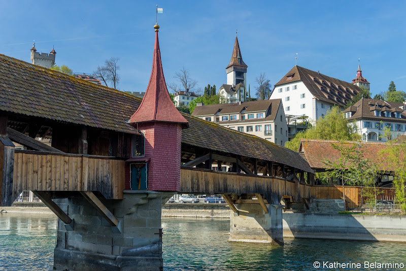 Spreuer Bridge Two Days in Lucerne Luzern Switzerland