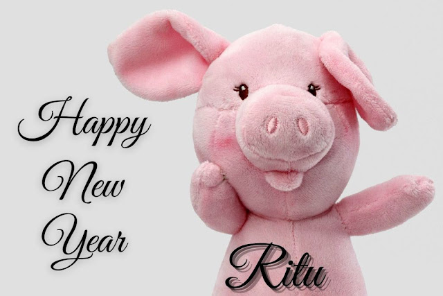 Happy New Year Name Style
