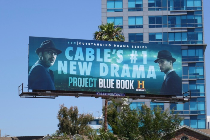 Project Blue Book season 1 Emmy consideration billboard