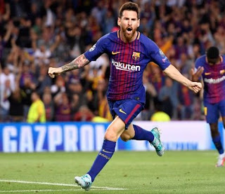 Messi Leads Over Ronaldo On Top Goals 2017