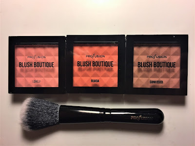 profusion blush kit Lovey Rumba Sunkissed