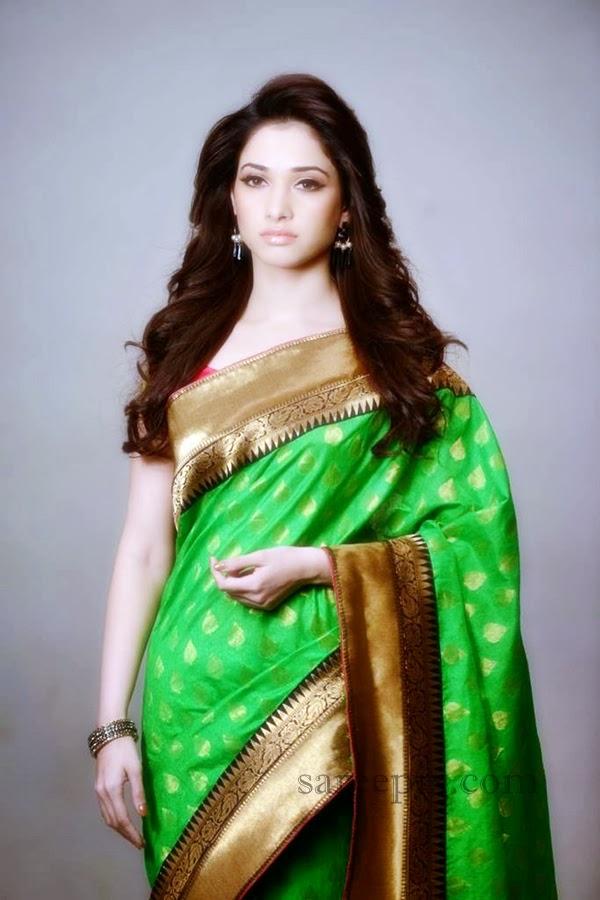 Tamanna saree photoshoot for Joh rivaaj
